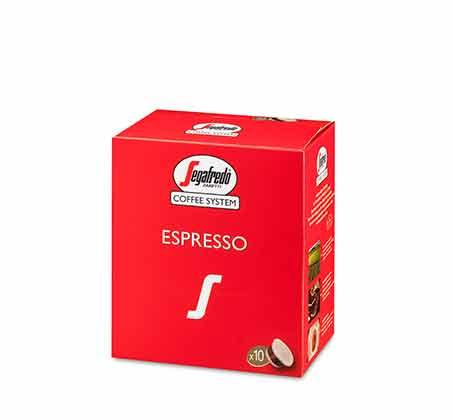 10 קפסולות תערובת קפה אספרסו קלאסית