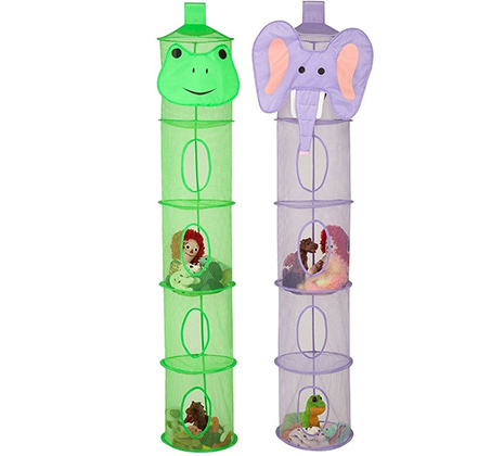 מתלה 5 תאים לאחסון צעצועים ומשחקים