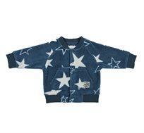 עליונית פליז לפעוטות - כחול כוכבים