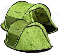 לישון במהירות! אוהל SPEED ל-2 אנשים מבית CAMPTOWN, זורקים והוא נפתח ללא הרכבה