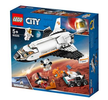 מארס מחקר הסעות - חללית LEGO