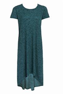 שמלת טקסטורה סיומת א-סימטרית