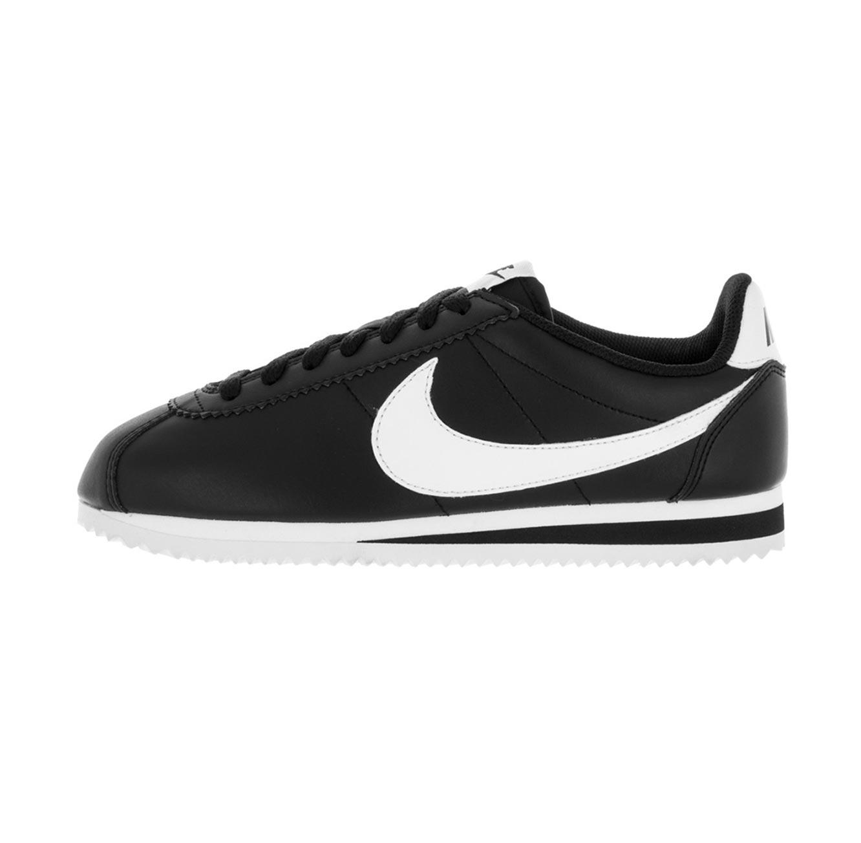 נפלאות נעלי סניקרס לאישה NIKE דגם 807471-010 Cortez בצבעי שחור לבן RY-54