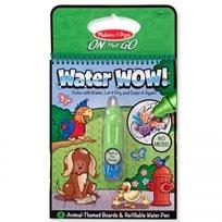 חוברת טוש המים חיות - Melissa & Doug
