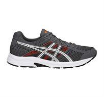 נעלי ספורט לגבר ג'ל קונטנד 4 - אפור כהה/לבן