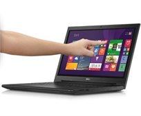 """מחשב נייד """"15.6 מסך מגע Dell דגם 15-3543, מעבד Core I3 דור חמישי, זיכרון 4Gb, דיסק קשיח 500Gb, מערכת הפעלה Windows 8 - מוחדש"""