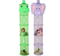 מתלה 5 תאים לאחסון צעצועים ומשחקים honey can do
