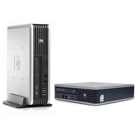 מגניב ביותר מחשב נייח מהסדרה העסקית של HP עם מעבד Core™2 Duo + אחריות לשנה NL-52