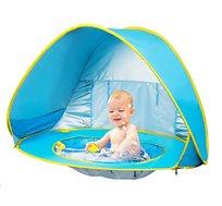 אוהל חוף לילדים עם ארגז חול / בריכה