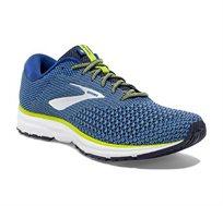 נעלי ריצה BROOKS REVEL 2 לגברים - כחול וצהוב
