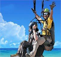 חווית רחיפה מרגשת ומלאת אדרנלין! טיסה במצנח רחיפה מעל חוף הים ונופים מרתקים החל מ-₪149 בלבד!