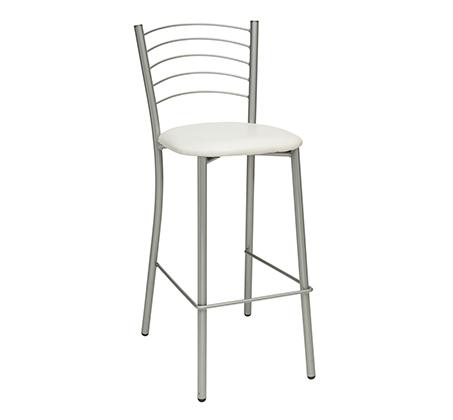 כסא בר למטבח בריפוד סקאי דגם אלפרדו במבחר גוונים לבחירה