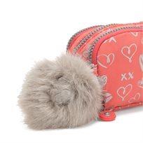 קלמר Gitroy - Hearty Pink Metורוד לבבות