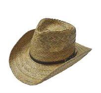 כובע בוקרים קש יוקרתי