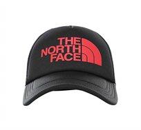 כובע מצחייה בשילוב לוגו המותג - אדום/שחור