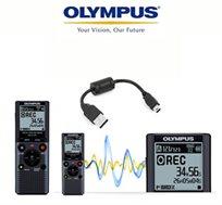 20% הנחה! טייפ מנהלים דיגיטלי מבית Olympus עם הפעלה קולית להקלטה ללא ידים, כולל סטנד מובנה
