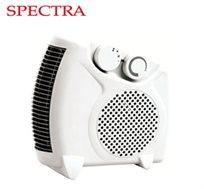 מפזר חום עומד/שוכב דגם SP11 מבית SPECTRA עם 2 עוצמות חימום 1000/2000 וואט וטמפרטורות מתכווננות