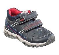 נעלי בנים דגם בייבי טרק פסים בצבע נייבי
