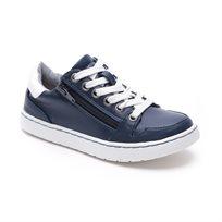 Magma - נעלי סניקרס לילדים בצבע נייבילבן