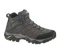 נעלי הליכה וטיולים לאישה MERRELL דגם J87314 בצבעי אפור כהה/כתום