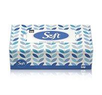 מארז 10 קופסאות 120 מגבוני נייר סנו סופט