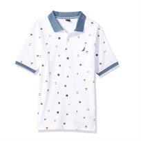 Nautica / נאוטיקה חולצה (16-7 שנים) פולו -צורות