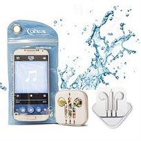 ערכת אוזניות סטראופוניות עם מיקרופון ונרתיק פלסטיק עמיד במים! דגם IEB-100 מבית LEXUS