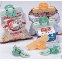שומרים על הטריות! זוג 'מגה' קליפסים איכותיים לסגירה הרמטית של שקיות פלסטיק ומזון