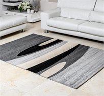 שטיח דגם גלים לסלון בעבודת יד במגוון צבעים וגדלים לבחירה
