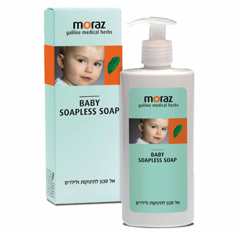 אל סבון לתינוקות להגנת עור מפני יובש