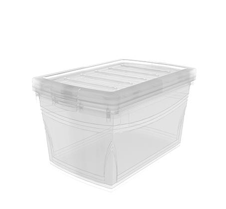 סט 4 קופסאות אחסון שקופות 60 ליטר אומני