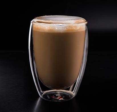 מארז הכולל 6 כוסות תה טרמיים מזכוכית בעלת דופן כפולה 350 מ