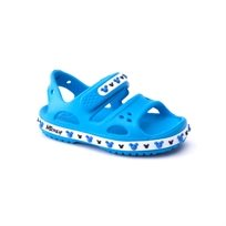 Crocs Crocband Ii Mickey Sandal - סנדל מיקי מאוס לילדים בצבע כחול