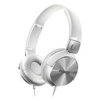 """אוזניות בסגנון DJ עם רמקול 32 מ""""מ Philips SHL3160WT - משלוח חינם!"""