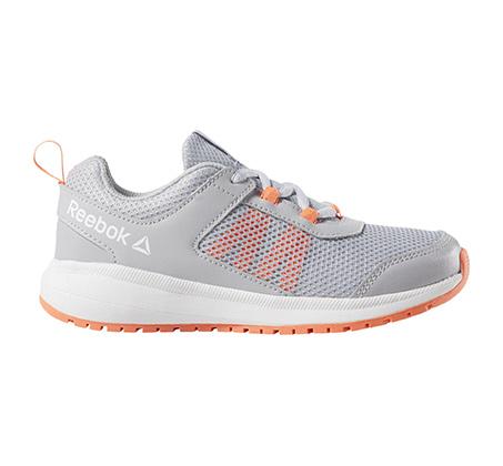 נעלי אימון לילדים ולנוער Reebok Road Supreme - אפור בהיר/כתום