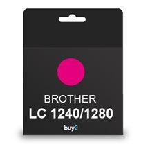על איכות לא מתפשרים! ראש דיו תואם BROTHER LC 1240/1280 צבע אדום, דיו איכותי למדפסת