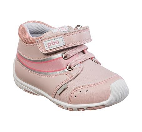 נעלי צעד ראשון לבנות דגם אנדי מעבר - ורוד