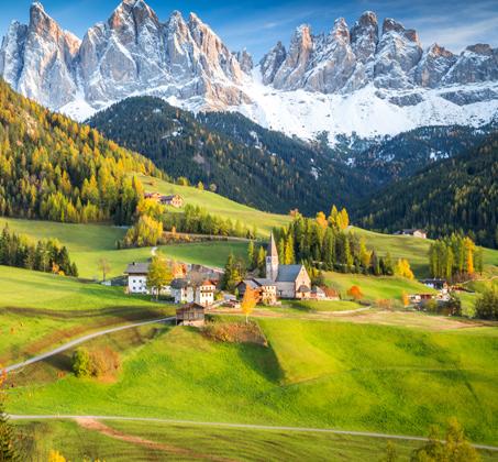 8 ימי טיול מאורגן בצפון איטליה עם קפיצה לשוויץ כולל טיסות ואירוח ע