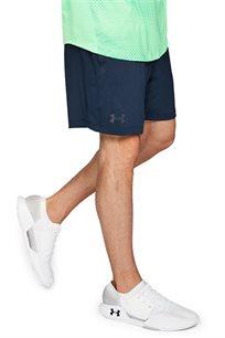 מכנס אימון קצר לגבר UNDER ARMOUR דגם 1312292-408 בצבע כחול נייבי