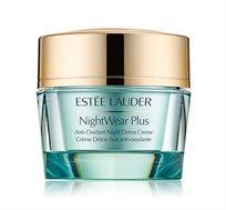 Nightwear קרם ללילה המעשיר את העור בלחות במרקם קליל לטיהור העור Estee Lauder