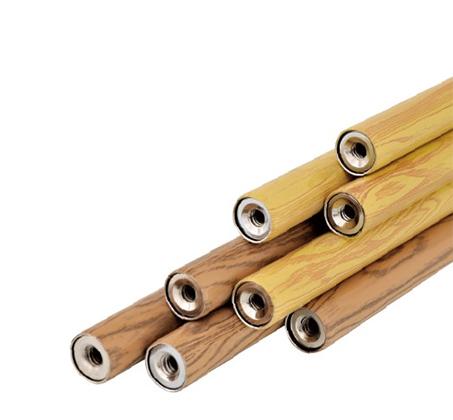 מדף לתליה ממתכת עם מדף מעץ אורן וזוג מתלים למגבות MY HOME DESIGN - תמונה 3