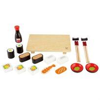 משחק דמיון באוכל - סט סושי Hape