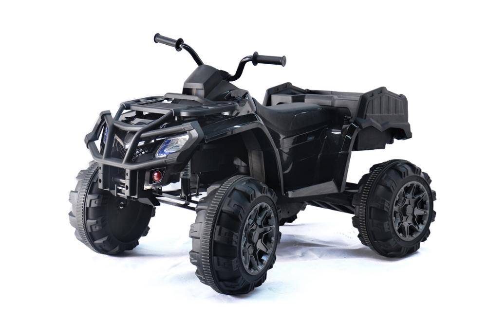 טרקטורון ממונע גדול 12V שחור