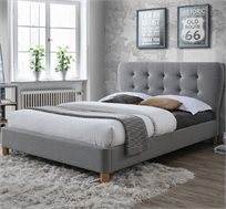 מיטת זוגית מעוצבת בריפוד בד דגם TANGO 160