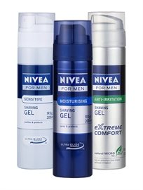 Nivea Shaving Gel For Men