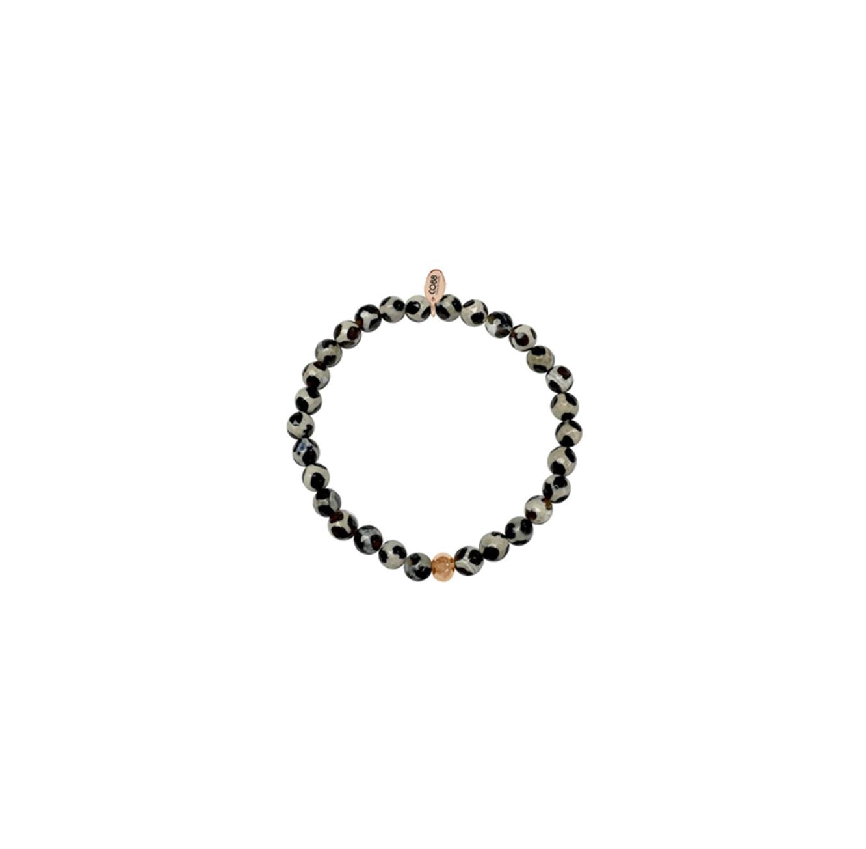 צמיד מעוצב עם אבנים מנומרות - CO88 אמסטרדם