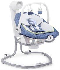 נדנדה חשמלית וטרמפולינה לתינוק 2 ב 1 - גינס