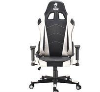 כיסא גיימינג  GLADIATOR GAMING CHAIR WHITE דגם GPDRC-GLA-W