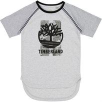 Timberland טימברלנד טישרט (2-16 שנים) - אפור שחור
