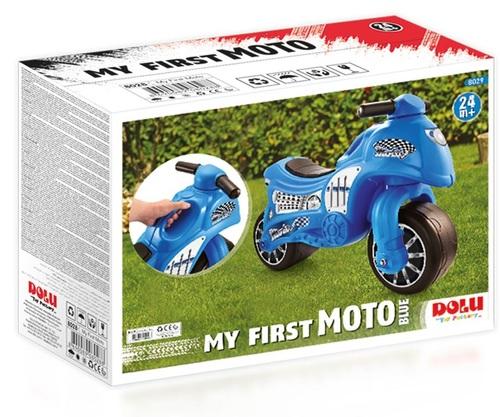אופנוע הראשון שלי - אופנוע דחיפה ואיזון לגיל שנתיים ומעלה - כחול - תמונה 3